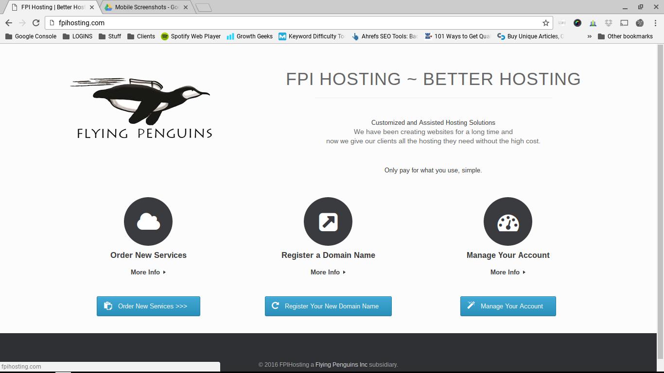 FPI Hosting