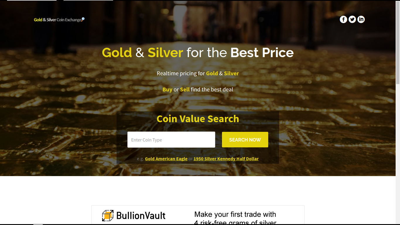 Gold & Silver Coin Exchange